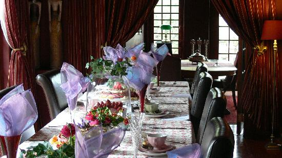 Mont D'or Bohemian House: Luncheon for the bride
