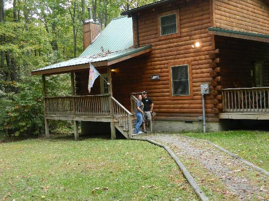 We Stayed In The Suprise Cabin Picture Of Country Road