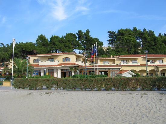 Possidi Holidays Hotel: Hotel from the beach