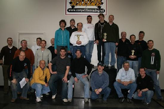 Competition Racing Indoor Karting Center: Awards Podium