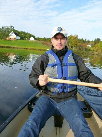 Aux Saveurs Du Lac : Sur le lac , juste en face du gîte...