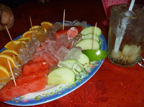 Restoran Haji Ramli: fruit platter