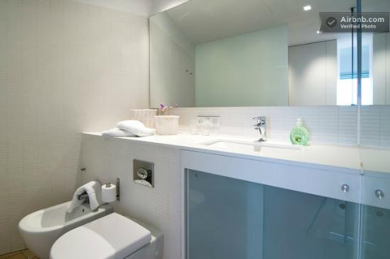 Villa Mathesis: Baño completo en cada habitación