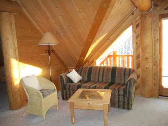 Logpile Lodge : Suite