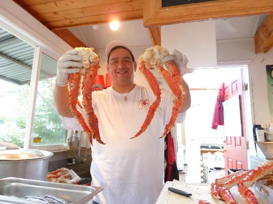Tracy's King Crab Shack: king crab!