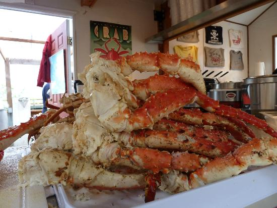 Tracy's King Crab Shack: the best legs!