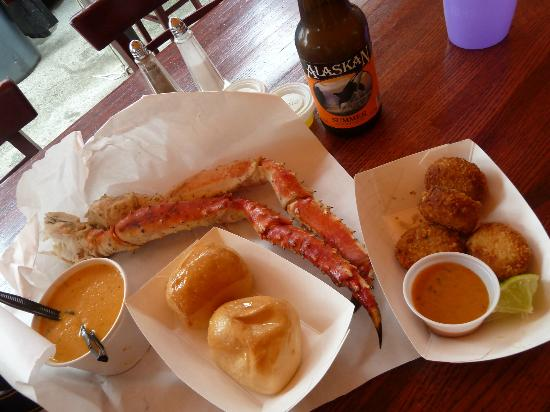 Tracy's King Crab Shack: the perfec meal !!