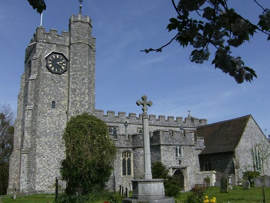 The Parish Church of St Mary's Chilham