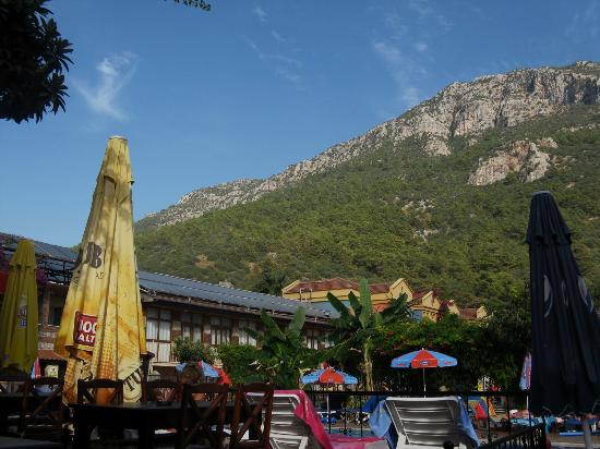 Magic Tulip Oludeniz: View from bar area