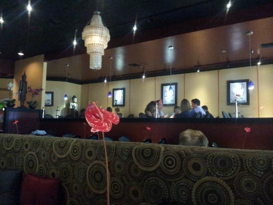 Talay Thai Restaurant: Interior of Talay Thai in Palm Beach Gardens FL