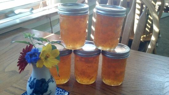 Blue Goose Inn Bed and Breakfast: Peach Jam