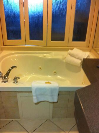 Hilton Niagara Falls/Fallsview Hotel & Suites: jacuzzi tub