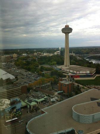 Hilton Niagara Falls/Fallsview Hotel & Suites: amazing view