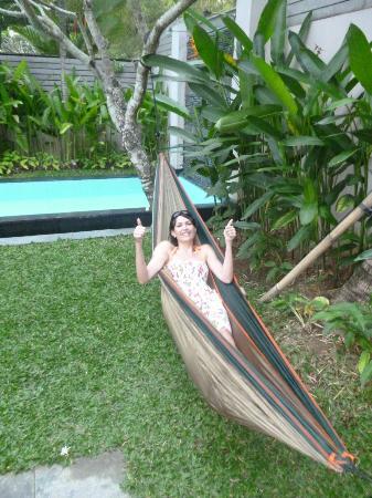 Bali Island Villas & Spa: Hammock!
