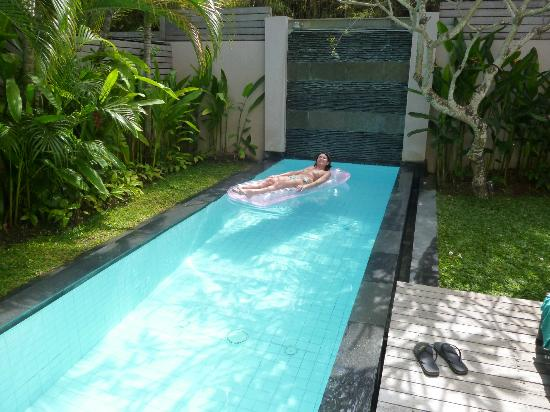 Bali Island Villas & Spa: Private Pool!