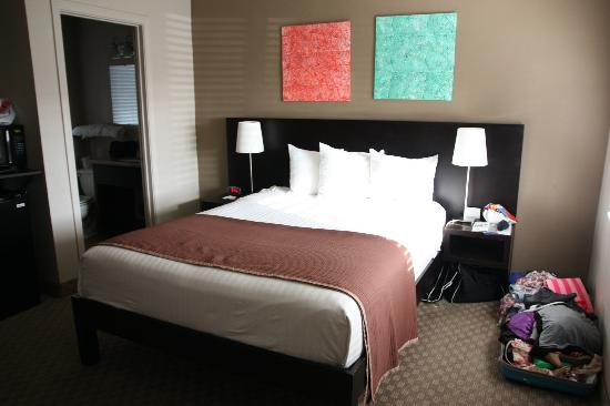 Rodeway Inn San Diego Beach SeaWorld Area: Kamer / bed