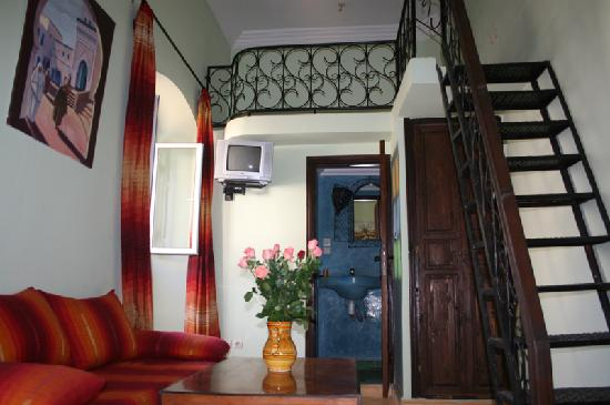Riad Etoile d'Essaouira: chambre