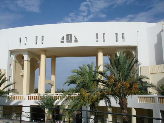 Medina Solaria & Thalasso: Rest Zone no exterior