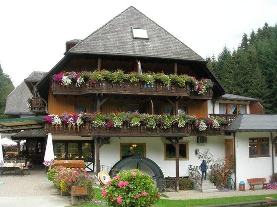 Grafenhausen, Allemagne : the restaurant