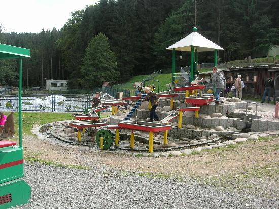 Grafenhausen, Allemagne : water playground