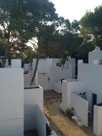 Hotel Casbah Formentera : Vista del complejo