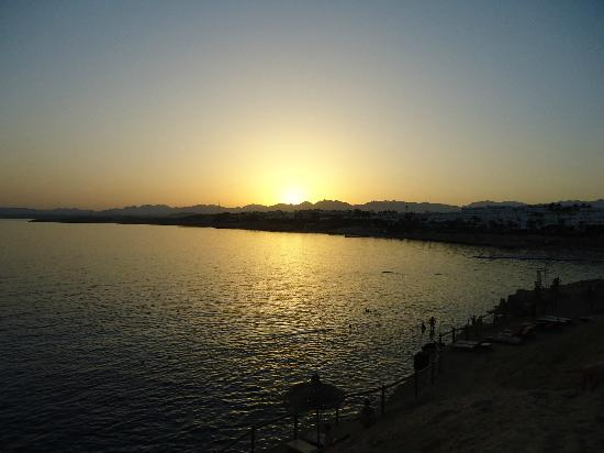 Sharm Plaza Hotel: sunset