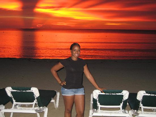 Hotel Riu Palace Tropical Bay: Amazing Sunset to See in Person