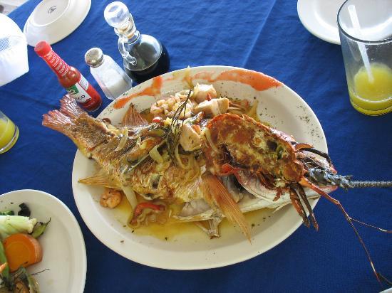 Camaron Dorado: un pescado muy bien condimentado