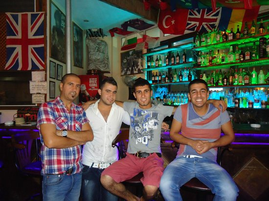 Dreams Cafe Bar : Great team - Hakan, Gokan, Caner, Burhan