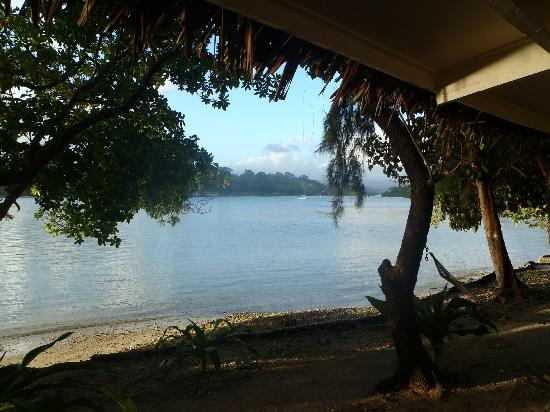 Erakor Island Resort & Spa : View from the verandah of room 2
