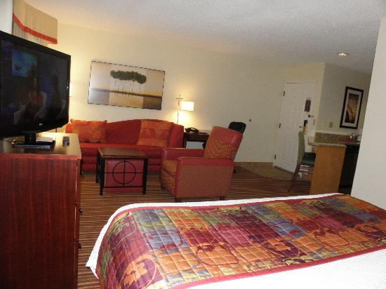 Residence Inn Cincinnati Blue Ash: Living area