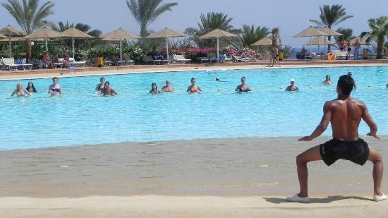 Dessole Pyramisa Sharm El Sheikh Resort : Pool Aquagym!