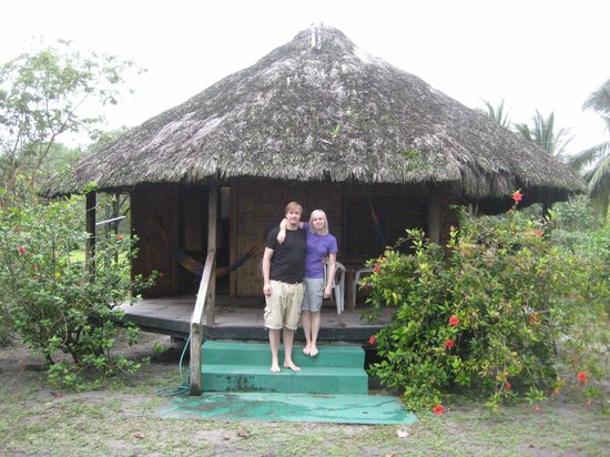 Mompiche, Ecuador: our cabin