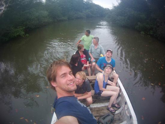 Cabanas Las Pigualas: mangrove trip