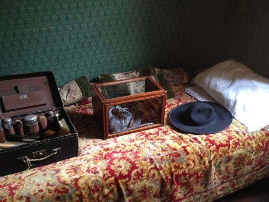 Sherlock Holmes Museum: Sherlock's Bed
