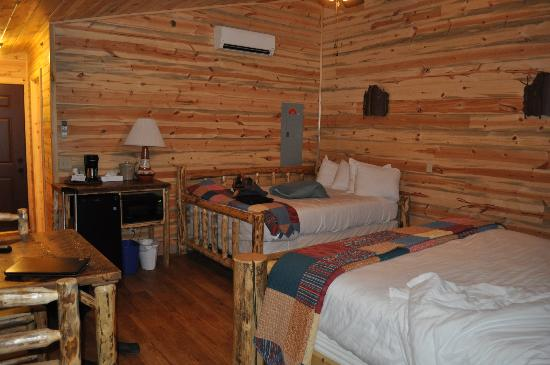Cedar Pass Lodge: Cabin 105 with queen daybed