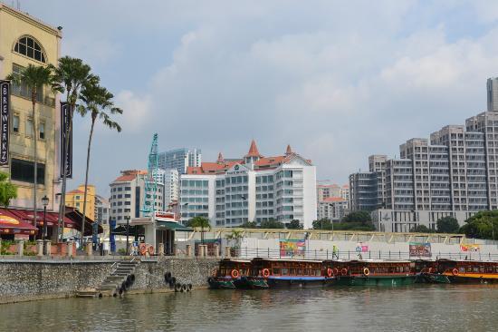 Park Hotel Clarke Quay: Vista desde el rio