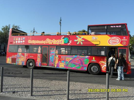 City Sightseeing Lisbon : bello colorato