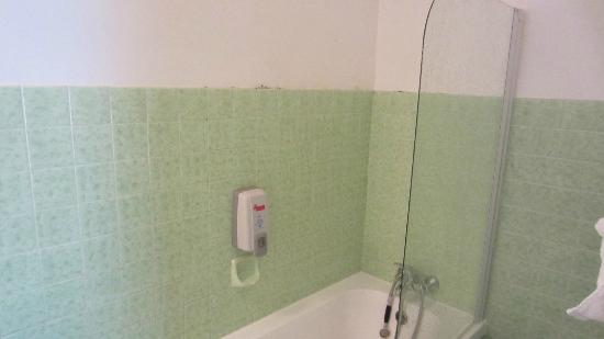 Hotel Saint Michel : mold in shower/ no shower