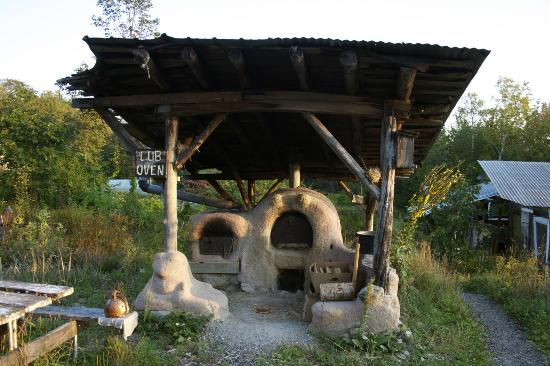 D Acres of New Hampshire: A cob oven