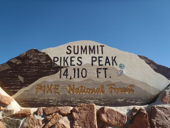 Pikes Peak - America's Mountain: Summit