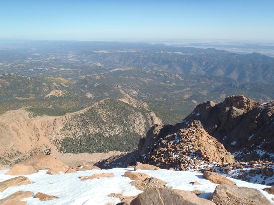 Pikes Peak - America's Mountain: View