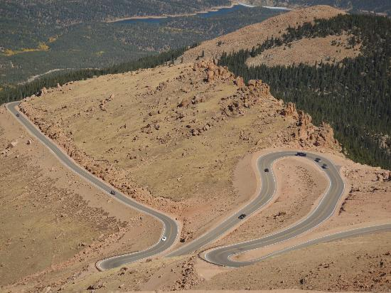 Pikes Peak - America's Mountain: Some of the highway