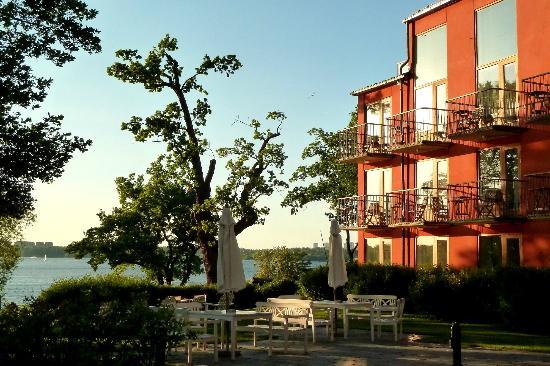 Hotel J: Blick auf den Fluss