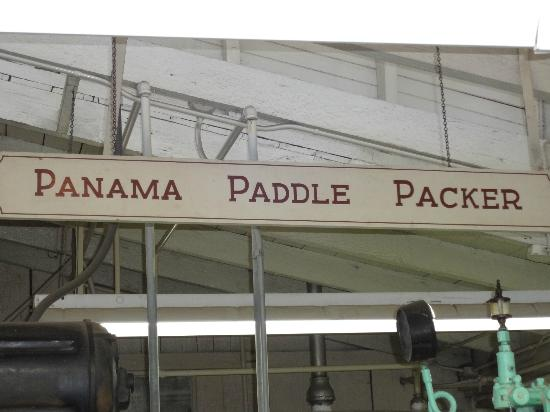Graber Olive House : Panama Paddle Packer!