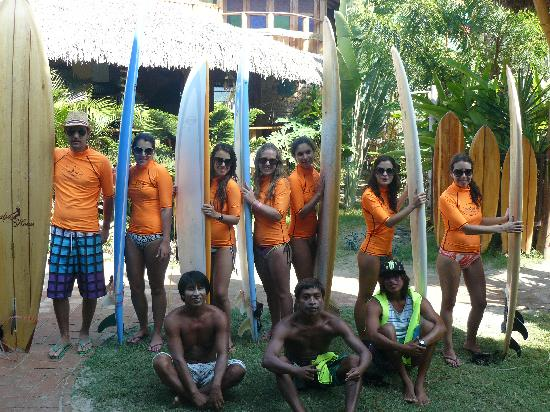 Balsa Surf Camp: clases de surf!