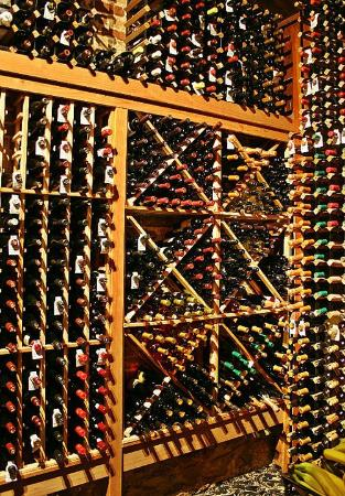 Cheeves Bros Steak House : Wine Cellar