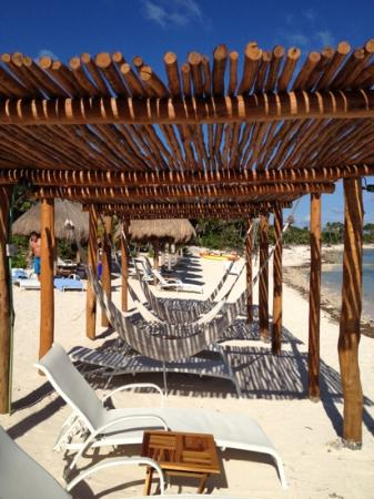 Soliman Bay, Mexico: hammocks!