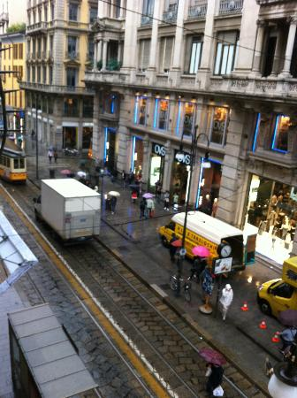 UNA Maison Milano: View from room 255