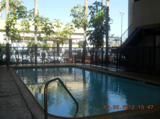 ‪‪Comfort Inn & Suites LAX Airport‬: shaded pool‬